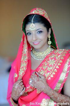 indian-wedding-bride-maharani-pink-lengha http://maharaniweddings.com/gallery/photo/2811