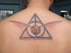 Cool HP tattoo.                                                                                                                                                                                 More