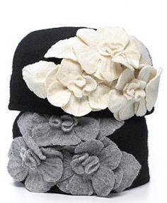 Helene berman Flower Hat