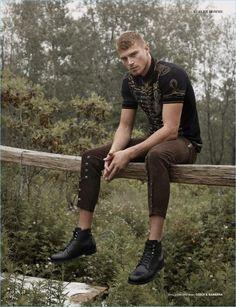 Matthew Noszka Covers Reflex Homme's Wild Issue