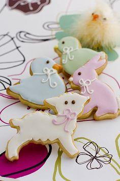 Cute Easter cookies