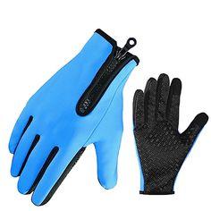 Touchscreen Anti-Slip Waterproof Outdoor Sports Gloves