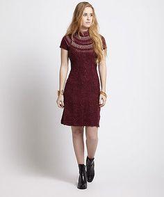 Free People Nordic Nights Sweater Dress- Size Medium - MSRP$168