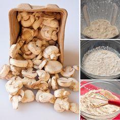 Homemade, condensed cream of mushroom soup in 5 minutes