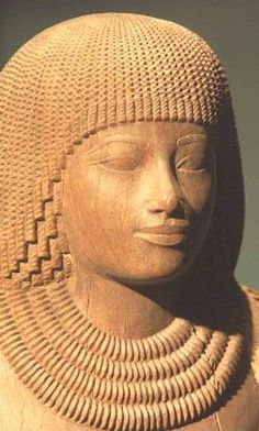 The People of ancient Egypt Sculpture 18th Dynasty