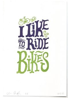 Chris Piascik - I like to ride bikes