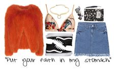 """""""The Mess I Am"""" by kaitertott ❤ liked on Polyvore featuring Vans, Vanessa Bruno, Katie Eary, Alexis Bittar and Design Letters"""