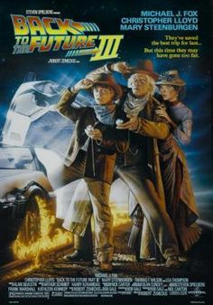 Back To The Future 3 Movie Poster Puzzle Fun-Size 120 pcs