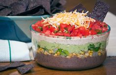 Healthy Greek Yogurt 5 Layer Dip