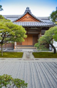 Kyoto, Japan. Looks very similar to the temple where my grandfather was a priest.