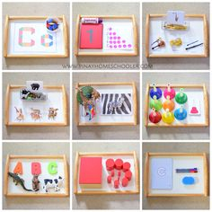 Learning trays for 32 months old toddler