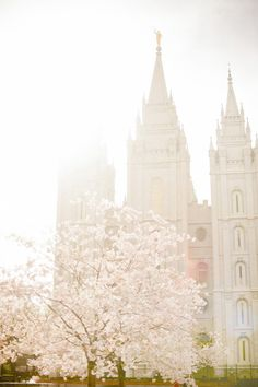 "A temple of The Church of Jesus Christ of Latter Day Saints where families are sealed together for all time and eternity, which thankfully surpasses solely ""til death do us part"". As the hymn says, ""Families Can Be Together Forever"" <3"