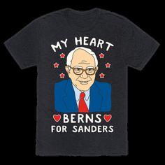My Heart Berns For Sanders