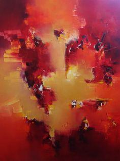 """""""Encandilado por el sol"""" - Nicolas Federici - Técnica mixta - 100 x 70 cm www.esencialismo.com"""