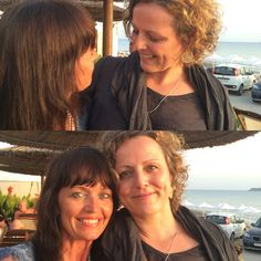 Chamelie Ardagh & me . same place, same mission, different groups Corfu, Culture