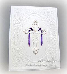 Our Daily Bread Designs Custom Ornamental Crosses Die,ODBD Custom Vintage Flourish Pattern Die