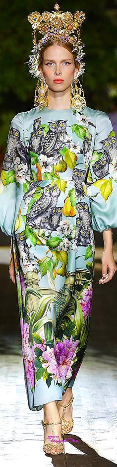 Dolce   Gabbana Alta Moda Fall Winter 2015 16 Pinterest — Très Haute Diva 120df78012