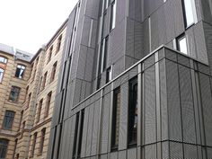 projekt w – Systeme aus Stahl – Products: Expanded metal facades