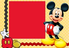 Theme Mickey, Fiesta Mickey Mouse, Mickey Mouse Cake, Mickey Party, Mouse Parties, Mickey Minnie Mouse, Disney Mickey, Mickey Mouse Birthday Invitations, Mickey Mouse Clubhouse Birthday