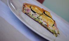 eat run love: Cuketový quiche z celozrnné mouky