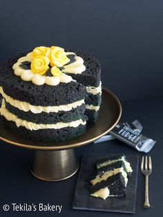 lakritsifudge naked cake