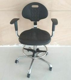 High quality lab stool chair adjustable stool with wheels lab laboratory chair round chair - China Foshan Staff Office Chair & Computer Seating Factory