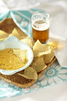 Warm Pimento Cheese and Chips