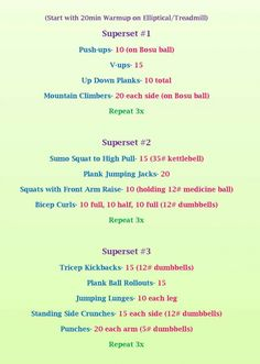 Circuit Workout Focus On Arms Abs Situpsandsequins
