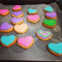 Colorful cookies❤️