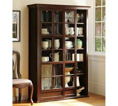 Pottery barn bookcase