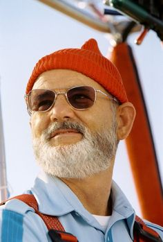 Still of Bill Murray in The Life Aquatic with Steve Zissou