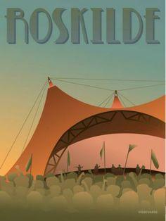 Roskilde Festival - Orange Scene » Vissevasse » art print