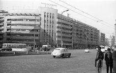 Piata Garii de Nord - 1974 Bucharest Romania, Old Pictures, Street View, Memories, Pta, Country, Buildings, Times, Retro