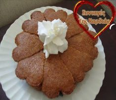 Greek Desserts, Muffins, Food And Drink, Breakfast, Cakes, Morning Coffee, Muffin, Mudpie, Cake
