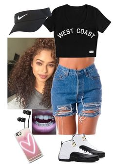 """California Love "" by arikaijones on Polyvore featuring Vans, TAXI, NIKE and Casetify"