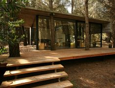 Contemporary And Unique Wooden House Design Ideas Beautiful Amazing Cool Wooden House Architecture Design Exterior Home Wood Rooftop Clean Glass Wall Fabulous Eco Friendly Designs Idea Cabins In The Woods, House In The Woods, House In Nature, Cottage In The Woods, Modern Cottage, Contemporary Cottage, Wood Cottage, Contemporary Design, Modern Design