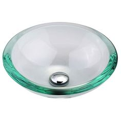Add Style And Class To Any Bathroom With A Clear Glass Vessel Sink. These  Elegant