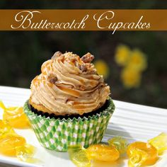 Butterscotch Cupcakes | Sweet Southern Blue