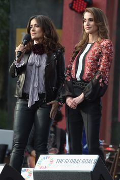 Foro Hispanico de Opiniones sobre la Realeza: La reina Rania en el Global Citizen Festival en Central Park
