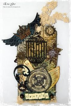 steampunk by Eva`s Scraproom - Cards and Paper Crafts at Splitcoaststampers