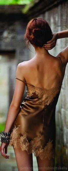 brown lingerie