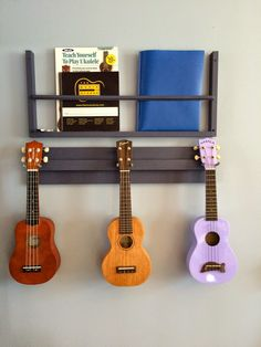 Ukulele display strung out pinterest display guitars and obsessive constructive a very ukulele christmas magazine rackbook rack and ukulele or guitar solutioingenieria Images