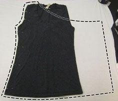 Lagenlook Sewing Patterns | diy slouchy vest | sewing