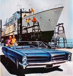 1966 Pontiac Bonneville Convertible: Art Fitzpatrick and Van Kaufman