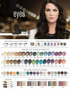 So many gorgeous mineral eye products!!! Learn more here: www.mandysbeautyzone.com