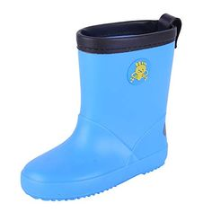207e06848fff 18Months-10Years Children Kids Baby Girls Boys Cartoon Print Waterproof  Rain Boots Shoes