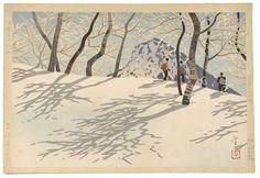 Pair of Japanese Woodblocks, Winter Scenes, (2008, Paintings, Sculpture & Works on Paper, Feb 7 & 8,)