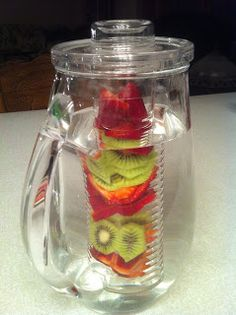 Sweet Jeanette: Make your own Fruit Flavored Waters