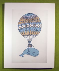 Whales and hot air balloons, does it get any better than this??