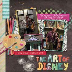 The Art od Disney | Kit: Art in my HeArt by Magical Scraps G… | marinapj | Flickr